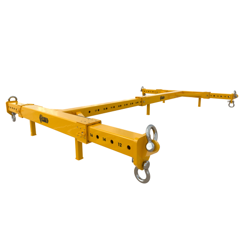 TELESCOPIC LIFTING FRAME