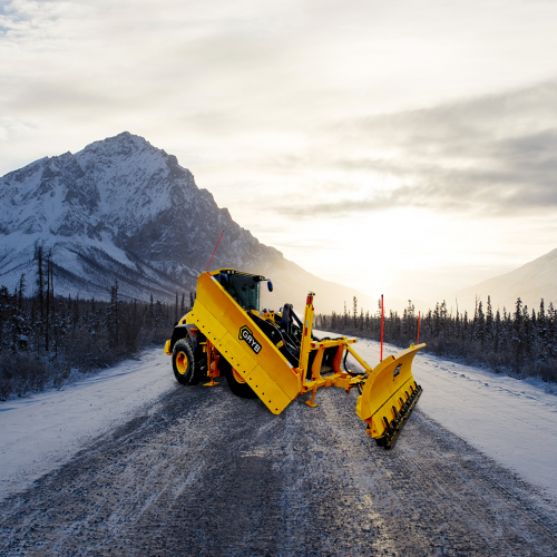 SNOW BLADES FOR WHEEL LOADER