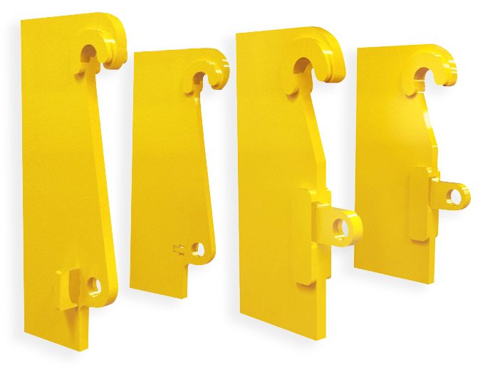 Quick Hitch fasteners for loaders